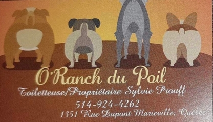O' Ranch du Poil - Pet Grooming, Clipping & Washing - 514-924-4262