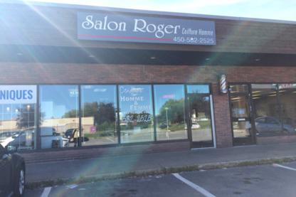 Salon Roger - Salons de coiffure et de beauté - 450-582-2525