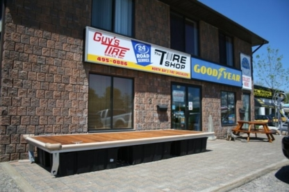 Guy's Tire Sales Inc - Used Tire Dealers - 705-495-0886