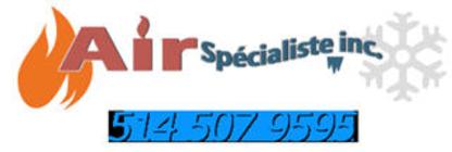 Air Spécialiste Inc - Entrepreneurs en climatisation - 514-507-9595