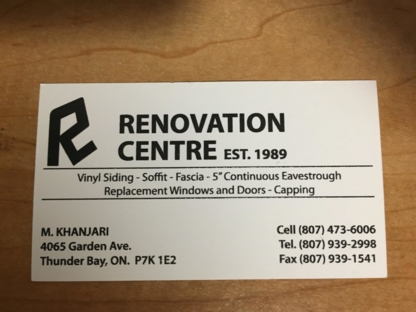 Renovations Centre - Doors & Windows