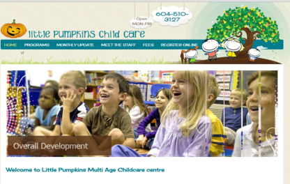 Little Pumpkins Childcare - Home Cleaning - 604-996-1493