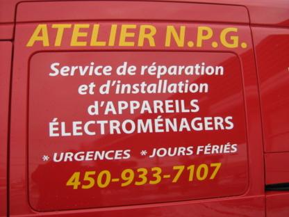 Voir le profil de Atelier N P G réparateur électroménager - Westmount