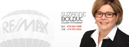 Suzanne Bolduc Courtier Immobilier - Courtiers immobiliers et agences immobilières - 418-955-2626