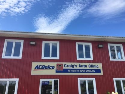 Craig's Auto Clinic - Auto Repair Garages - 506-458-9402