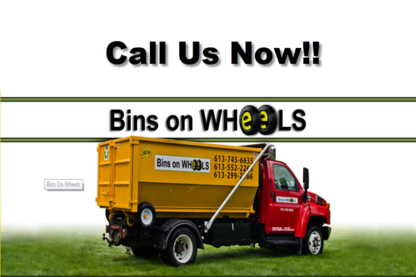 Bins on Wheels - Waste Bins & Containers