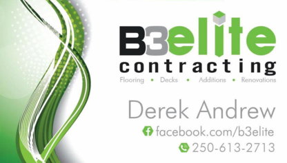 B3 Elite Contracting - Floor Refinishing, Laying & Resurfacing