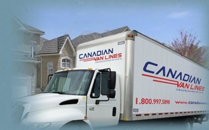 Canadian Van Lines - Moving Services & Storage Facilities - 647-436-1623