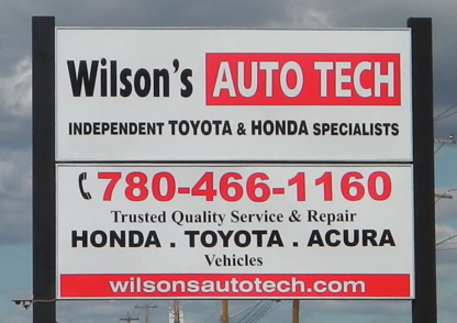 Wilson's Auto Tech Toyota Honda Acura Service & Repair - New Car Dealers