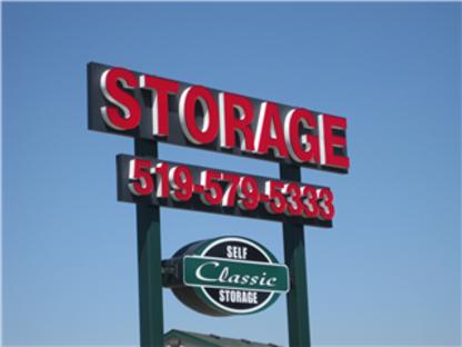 Classic Self Storage - Self-Storage - 519-579-5333