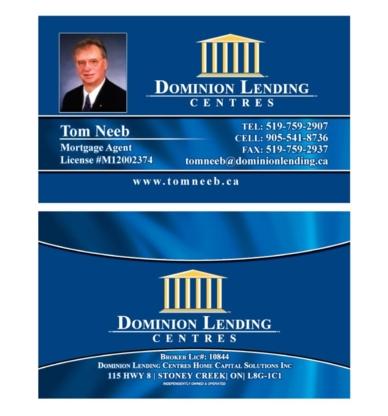 Tom Neeb Mortgage Agent - Mortgage Brokers - 905-541-8736