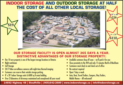 Wholesale Housing & Storage - Self-Storage - 905-642-2689