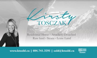 Kirsty Tosczak - Real Estate (General)