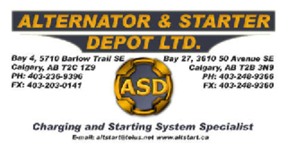 Alternator & Starter Depot Ltd - Alternators & Starters