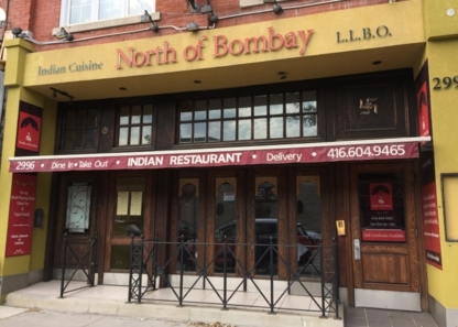 North Of Bombay - Restaurants - 416-604-9465
