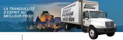 Déménagement Robert Michaud - Moving Services & Storage Facilities - 418-627-8584