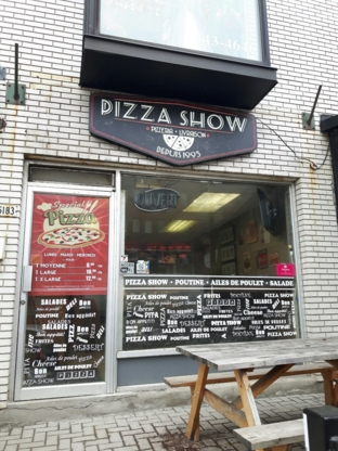 Restaurant Pizza Show - Pizza et pizzérias - 514-341-1341