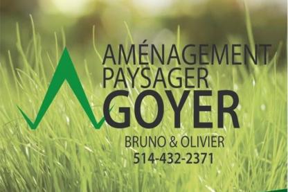 Aménagement Paysager Goyer - Paysagistes et aménagement extérieur - 514-432-2371
