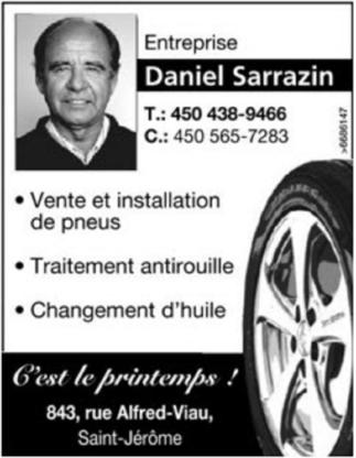 Voir le profil de Entreprise Daniel Sarrazin Antirouille-Pneus - Piedmont