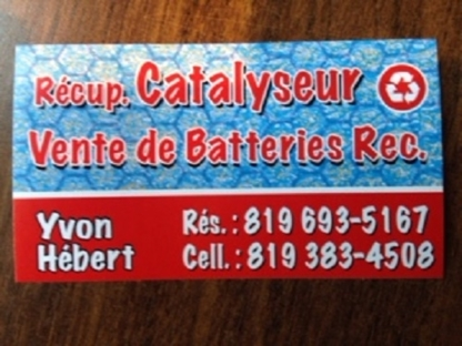 Yvon Hebert Recyclage - Détaillants de batteries