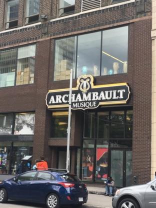 Archambault - Librairies - 514-849-6201