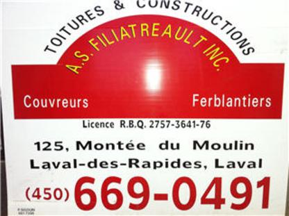 Les Constructions A S Filiatreault Inc - Rénovations - 450-669-0491