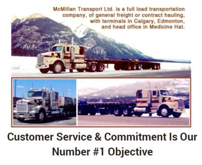 McMillan Transport Ltd - Trucking - 403-264-7802