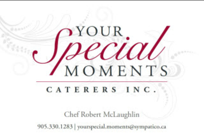Special Moments Caterers - Caterers - 905-330-1283