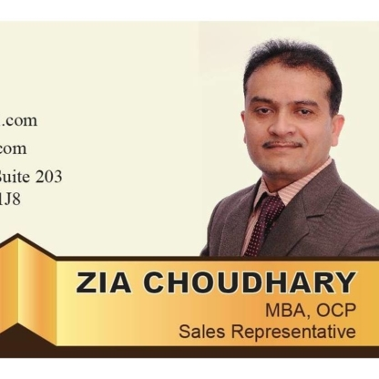 Zia Choudhary - Realtor - Real Estate Agents & Brokers - 647-678-6032