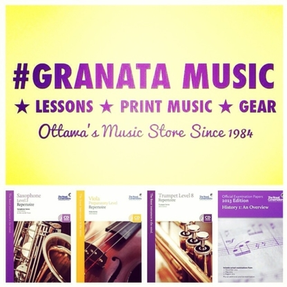 Granata Music Ltd - Musical Instrument Stores - 613-727-0727