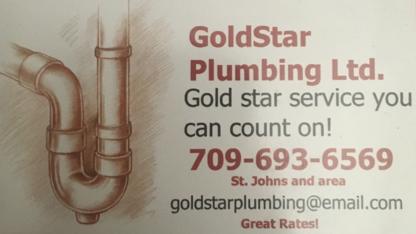 GoldStar Plumbing Ltd - Plombiers et entrepreneurs en plomberie - 709-693-6569