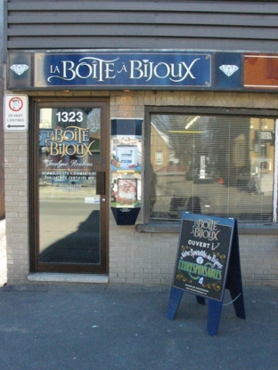 La Boîte a Bijoux - Bijouteries et bijoutiers - 418-687-9393