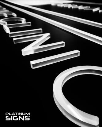 Platinum Signs Ltd - Signs - 604-795-9858