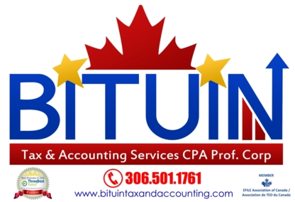 Bituin Tax and Accounting Services CPA Prof Corp - Accountants - 306-501-1761