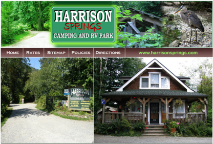 Harrison Springs Camping & RV Park - Campgrounds - 604-796-8900