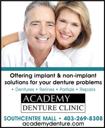 Academy Denture Clinic - Denturists - 403-269-8308