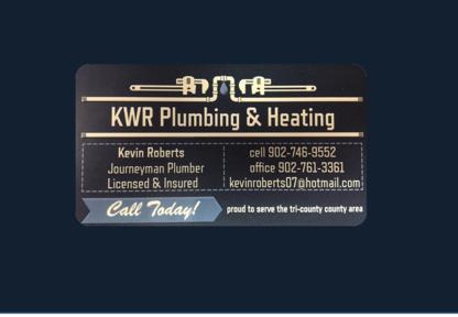 KWR Plumbing & Heating - Plumbers & Plumbing Contractors - 902-746-9552