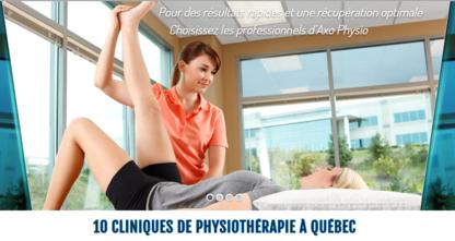 Axo Physio - Physiothérapeutes et réadaptation physique