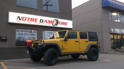 Notre Dame Tire Ltd - Tire Retailers - 250-377-8473
