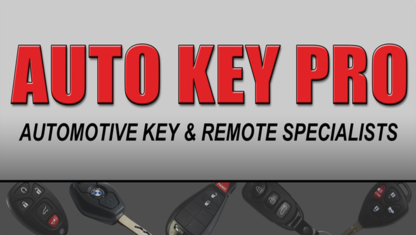 Auto Key Pro - Locksmiths & Locks