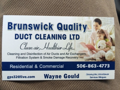 Brunswick Quality Duct Cleaning - Concrete Repair, Sealing & Restoration