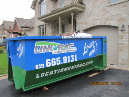 Location de conteneurs Unibac - Waste Bins & Containers