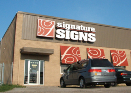 Signature Sign & Image - Signs - 905-357-0885