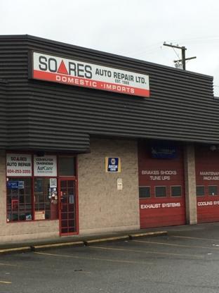 Soares Auto Repair Ltd - Car Repair & Service - 604-253-3355
