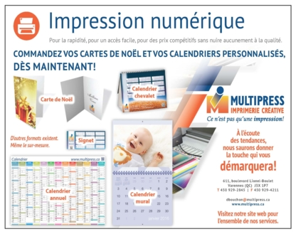 View Imprimerie Multipress Inc's Saint-Antoine-sur-Richelieu profile