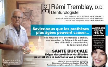 Tremblay Rémi - Traitement de blanchiment des dents - 418-668-2045