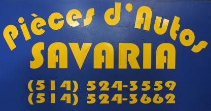 Pièces D'Auto Savaria - Grossistes et fabricants d'accessoires et de pièces d'autos - 514-524-3559