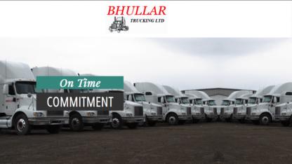 Bhullar Trucking Ltd - Trucking - 780-488-1373