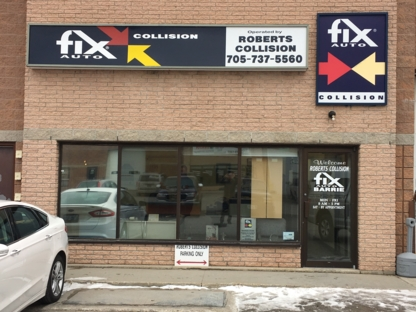 Fix Auto Barrie North - Auto Body Repair & Painting Shops - 705-737-5560