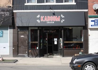 Kaboom Chicken - Restaurants - 416-546-9899